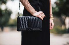Navy Grace Blog | A Fashion + Lifestyle blog // Saturday Top Five Favorite Black Crossbody Handbags