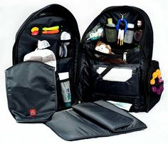 This is an amazing diaper bag travel backpack for baby's and toddlers! Traveling with kids got so much easier!