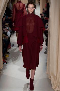 Valentino Spring 2015 Couture Fashion Show - Grace Hartzel
