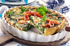 Vegetable Pizza, Quiche, Vegetables, Breakfast, Food, Morning Coffee, Essen, Quiches, Vegetable Recipes