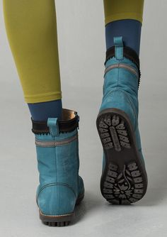 Nubuck boots – Accessories – GUDRUN SJÖDÉN – Webshop, mail order and boutiques | Colourful clothes and home textiles in natural materials.