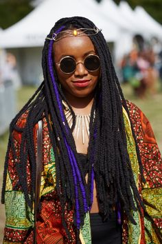 Pin for Later: Brooklyn's Afropunk Festival Brought Out the Best in Black Beauty Afropunk Street Style 2015