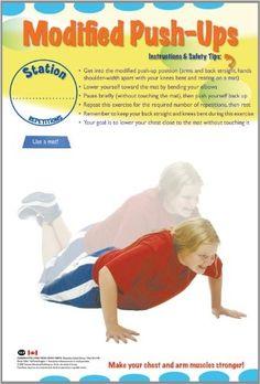 Vie active canadienne - Fiches d'entraînement par circuit (série pour les écoles primaires)