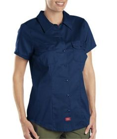 Dickies Women's Short Sleeve Work Shirt FS574 at Sears.com