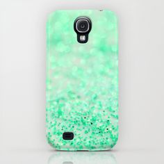 Sweetly Mint Samsung Galaxy S4 case by Lisa Argyropoulos