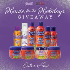 I just entered Beautiful Textures Giveaway to win some amazing curly hair prizes on CurlyNikki.com! You should enter too. It's easy, click here: http://www.naturallycurly.com/giveaways/Beautiful-Textures-Giveaway/st/547d17f8437e78.88203124