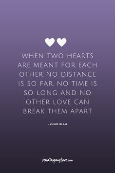 "Find quotes, relationship advice and gifts: www.sending-my-love.com ""For the two of us, home isn't a place. It is a person"" - Long distance Relationship quotes, LDR quotes"