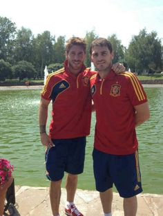 Sergio Ramos & Iker Casillas #Spain