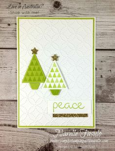 Let me teach you how to easily create all your Christmas cards - http://www.simplystampingwithnarelle.com/p/christmas-stamp-stack.html - Simply Stamping with Narelle