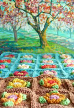 crochet work... ༺✿ƬⱤღ  http://www.pinterest.com/teretegui/✿༻