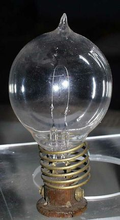 Thomas Edison's most important invention is the light bulb!