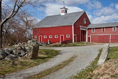 Cogswells Red Barn In Spring photo