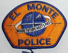 EL MONTE POLICE Los Angeles County California PD LA CA patch • $5.84 - PicClick