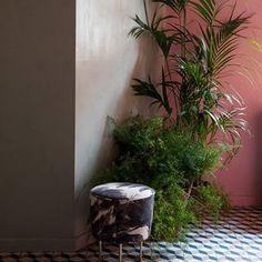 GUBI // Modern Line Pouffe by Greta M. Grossman