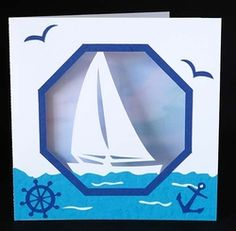 Boat Aperture Card on Craftsuprint - View Now!
