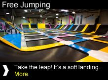 Australia's Unique Trampoline Park. Join the Free-Jumping Revolution! | Join the Revolution in our Trampoline Park Universe!
