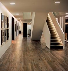 Porcelain Tile that looks like wood. Heated wood floors are a possibility! #TileTrends www.cercantile.com