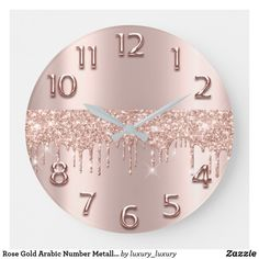 Rose Gold Room Decor, Rose Gold Rooms, Rose Gold Bedroom Accessories, Blush And Gold Bedroom, Rose Gold Wall Art, Rose Decor, Bedroom Black, Rose Gold Aesthetic, Nail Designer