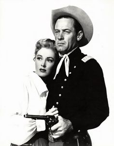 Escape From Fort Bravo -  Eleanor Parker and William Holden