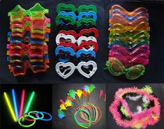 80s Birthday Parties, 80s Party, Disco Party, Neon Birthday, Glow In Dark Party, Glow Stick Party, Neon Party Decorations, Party Themes, Party Ideas
