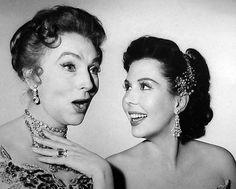 Agnes Moorehead & Ann Miller