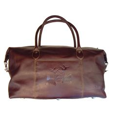 Luxury Leather weekender bag, 'The Rut', available from www.annabeljames.co.uk