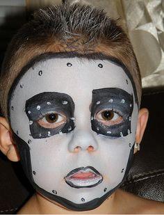 disfraces carnaval halloween artstica loca de halloween ideas de halloween pintura de la cara para los nios ideas de la pintura para los nios