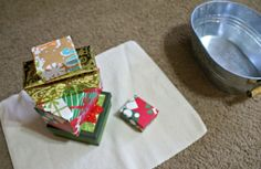 Montessori Christmas Activities for Toddlers - Stacking Presents Montessori Toddler, Montessori Activities, Infant Activities, Christmas Activities For Toddlers, Toddler Christmas, Baby Room, Preschool, Presents, Infants