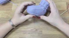 Škola pletení - dětské bačkůrky, 3. díl, Knitting baby boots