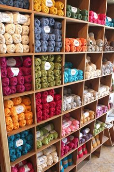 A big warm #dropsdesign welcome to our new store Tricotela located in Seville city centre. #newshop #yarn