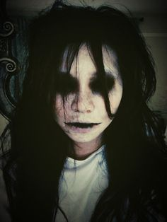 Horror Makeup Inspired by The Grudge   Asiance Magazine