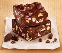 Rocky Road: With the addition of cranberries, this classic just got even better!. http://www.bakers-corner.com.au/recipes/slices/rocky-road/rocky-road-2/