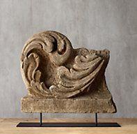 18th C. Spanish Architectural Fragment