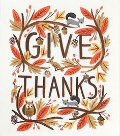 Thanksgiving is Next: Roundup of Thanksgiving Cards