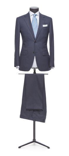 Light Blue Suit, Blue Suits, Gents Suits, Tailor Made Suits, Suit Combinations, Slim Fit Suits, Stylish Suit, Suit Fabric, Mens Attire