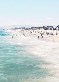 Beach days at Venice Beach, CA.