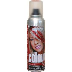 Intense Red Temporary Hair Color Spray >>> Visit the image link more details.