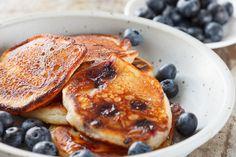 Quinoa+Blueberry+Pancakes