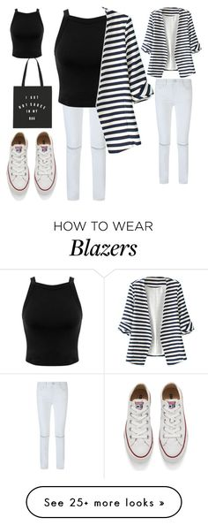 """""""Untitled #443"""" by aminamuratovic3 on Polyvore featuring Rebecca Minkoff, Miss Selfridge, WithChic, Converse, women's clothing, women, female, woman, misses and juniors"""