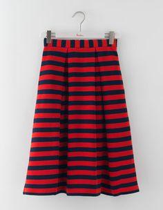 Full Ottoman Midi Skirt