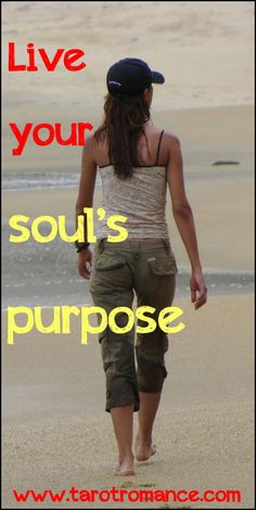 Identify your unique gifts, what you love and what comes naturally to you. So you can pursue what lights you up and live your soul's purpose. Find out more: http://tarotromance.com/live-your-souls-purpose/ #soulspurpose