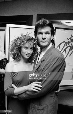Jennifer Grey and Patrick Swayze in Dirty Dancing. Patrick Wayne, Patrick Swayze Funeral, Jennifer Grey Patrick Swayze, Idole, Dirty Dancing, Film Serie, Celebs, Celebrities, Vintage Movies