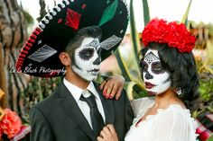 DIA DE LOS MUERTOS> COUPLE> MAKEUP>LULUBLUSHPHOTOGRAPHY> NORTHERN CALIFORNIA PHOTOGRAPHER. https://www.facebook.com/LuLuBlush