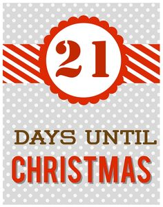 21 Days to Christmas Days Until Christmas, All Things Christmas, Christmas Ideas, Christmas Countdown, Little Things, Scrap, 21 Days, Girls, Days Till Xmas