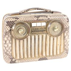 Vintage Akkford Portable Radio