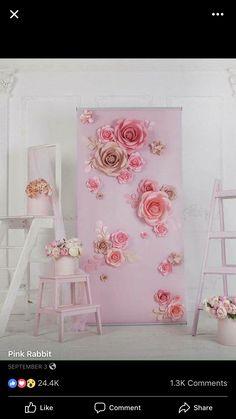 Beautiful floral bridal /baby shower ideas #bridalshower #babyshower #floral #picturesque