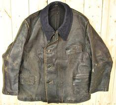 Jahrgang 1940 schwarz/Militärpolizei Horsehide von PontiacDryGoods