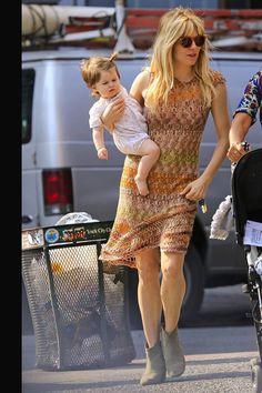 Especial shopping para el Día de la Madre con madres famosas: Sienna Miller