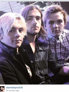 Ross,rocky,Ryland lynch at DWTS