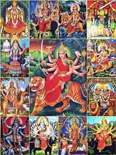 Image may contain: one or more people Saraswati Goddess, Shiva Shakti, Lord Durga, Durga Maa, Hanuman, Maa Durga Photo, Maa Wallpaper, Gayatri Devi, Navratri Images